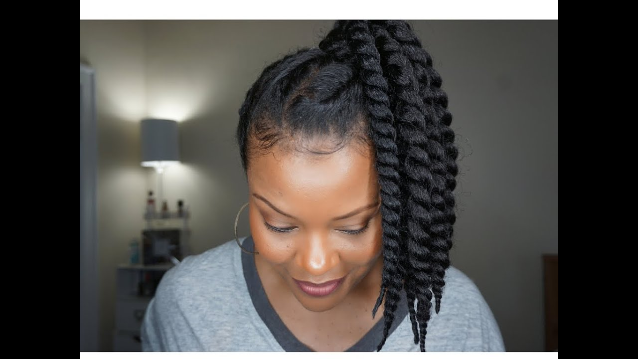 protective styles for thin hair how to 90 s inspired updo w faux twists on 4926