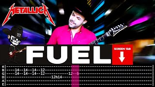 【METALLICA】[ Fuel ] cover by Masuka   LESSON   GUITAR TAB