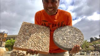 COMO HACER ADOQUINES DECORATIVOS | DECORATIVE STEPPING STONES
