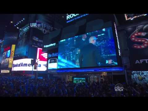 Pitbull - I Know You Want Me - Give Me Everything - Dick Clark's New Year's Rockin' Eve