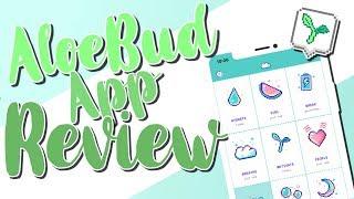 AloeBud App Review // -Carmella-