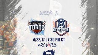 Rio Grande Valley FC vs Tulsa Roughnecks FC full match