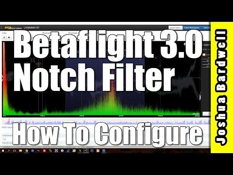 Betaflight Notch Filter - How To Configure