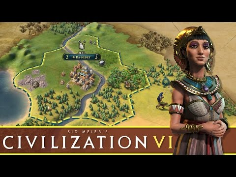 Civilization VI - #1 - Banks of the River Nile (Cleopatra Playthrough)