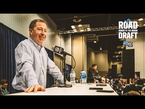 Bob Quinn's NFL Combine Press Conference | Road To The Draft | Detroit Lions