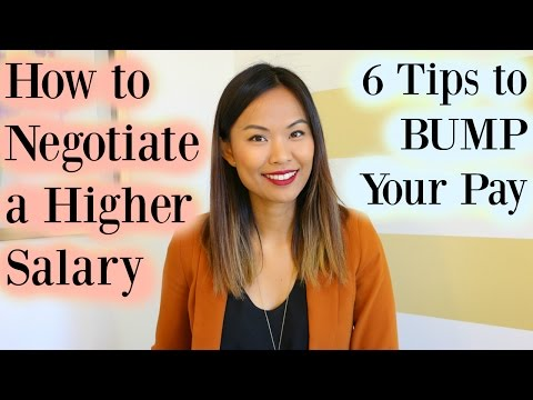 Salary Negotiation: 6 Tips on How to Negotiate a Higher Salary