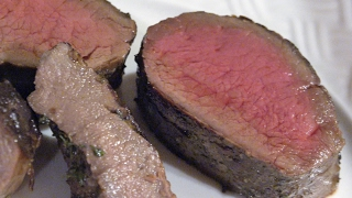 Venison Backstrap with Red Wine Pan Sauce Recipe