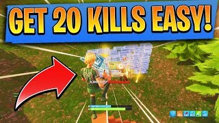 How to get 20+ kills in Fortnite EASY! How to Win In Fortnite! (Ps4/Xbox Fortnite Tips and Tricks)