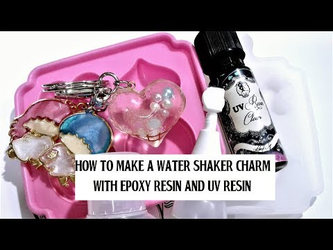 How to Make a Water Shaker Charm with Epoxy Resin or UV Resin (The Jeanjerbread Corner PH)
