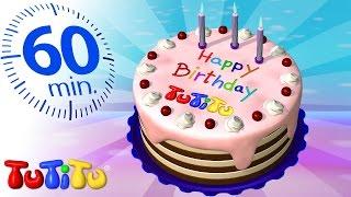 טוטיטו בעברית ברצף | עוגת יומולדת | וצעצועים נוספים | שעה שלמה של הנאה לילדים