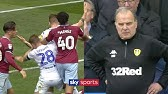 The most UNBELIEVABLE scenes in football history?!   Leeds let Villa score after controversial goal!