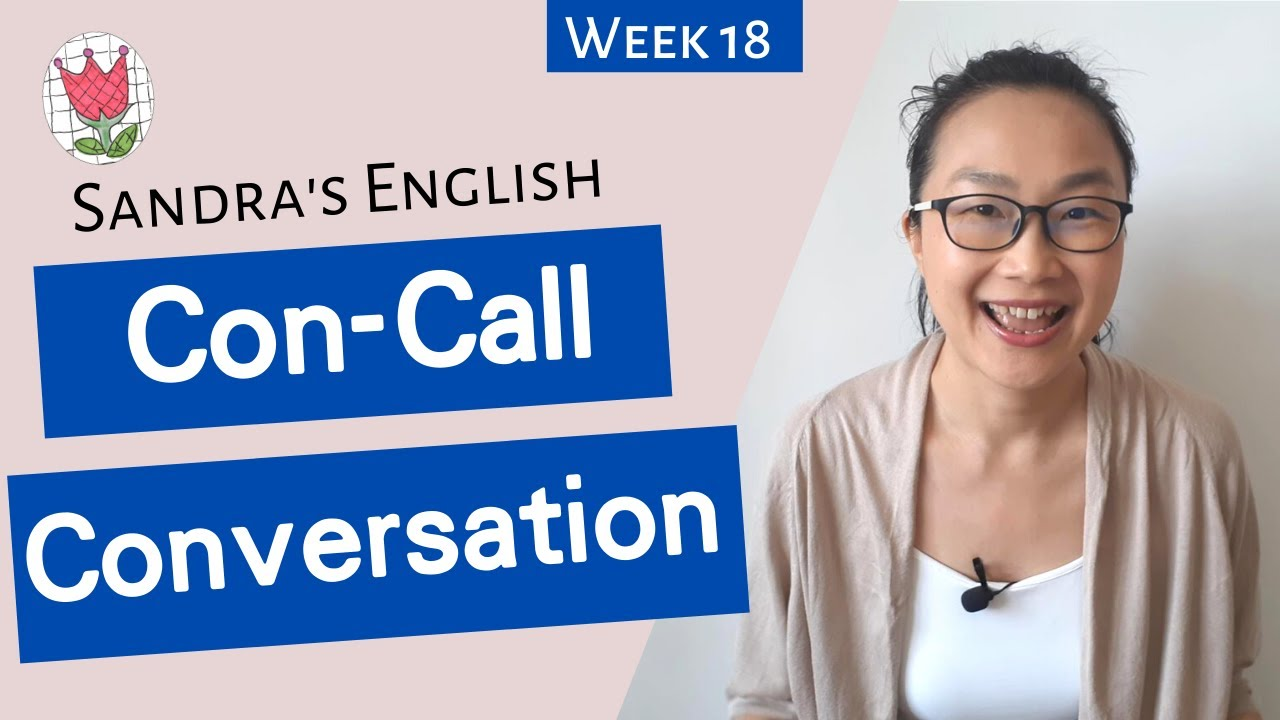 Conference Call Conversation Example | Business English