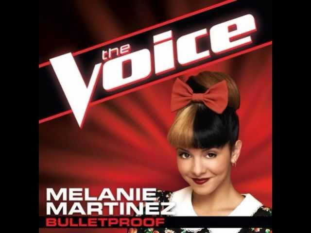 Melanie Martinez Bulletproof The Voice Studio Version Chords