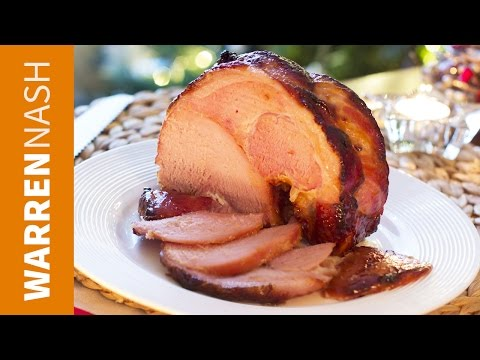 Glaze For Ham Recipe - With Honey In The Oven - Recipes By Warren Nash