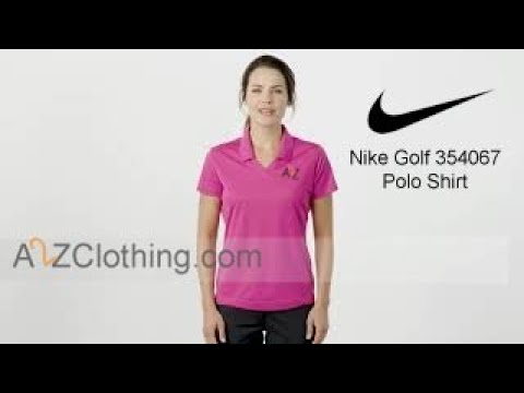 Nike Golf 354067 Women Dri FIT Micro Pique Polo Shirt With Custom Embroidery -  A2ZClothing.com