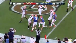 11/02/2013 Georgia vs Florida Football Highlights