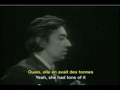 Serge Gainsbourg Histoire de Melody Nelson French & English subtitles