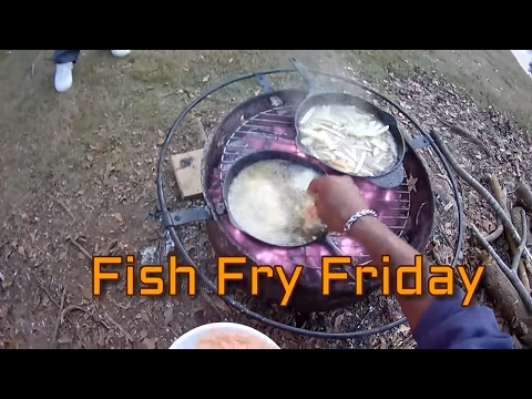 Crappie Hole (FISH FRY FRIDAY) FILET CRAPPIE + HUSH PUPPIES + HOMESTYLE FRIES