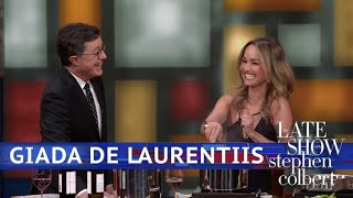 Giada De Laurentiis And Stephen Are Cooking With Wine thumbnail