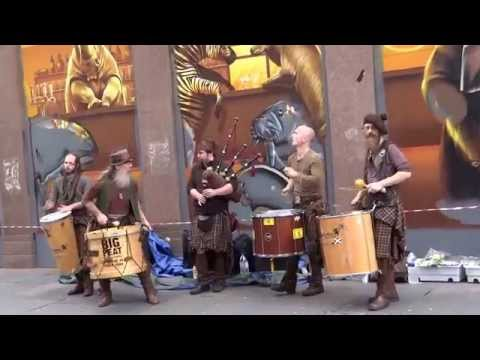 Scottish street band (Clanadonia)