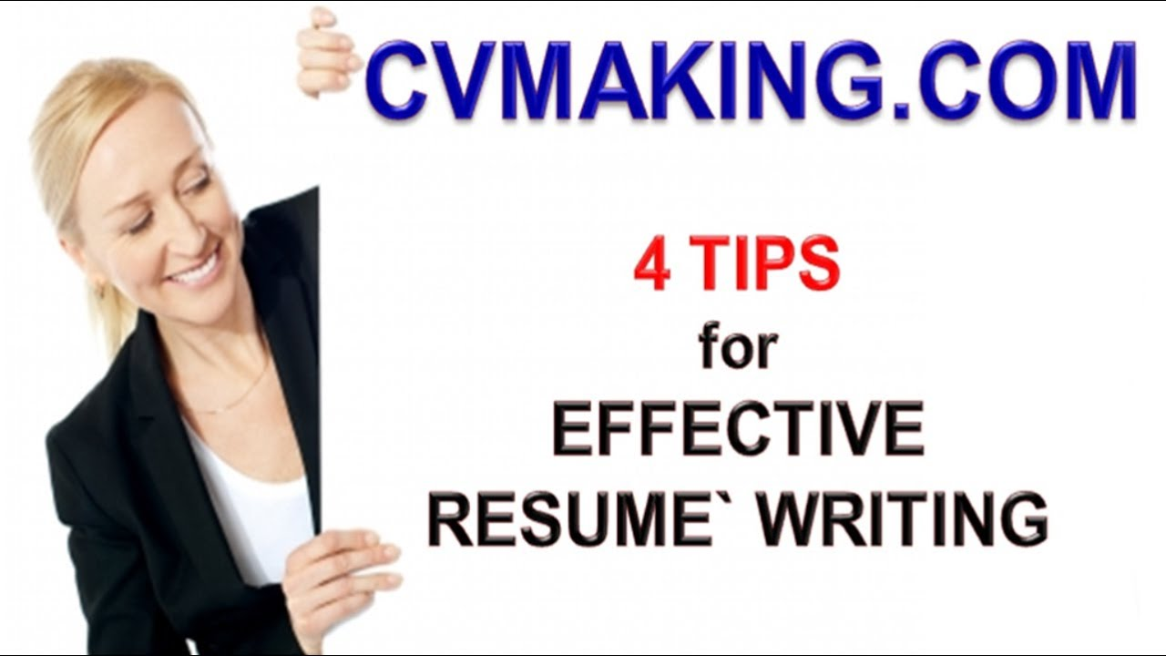 effective resume writing tips These tips will help you write your cv in a style that new zealand  tips for creating a nz-style cv  you can use our cv templates or our cv-writing tool,.