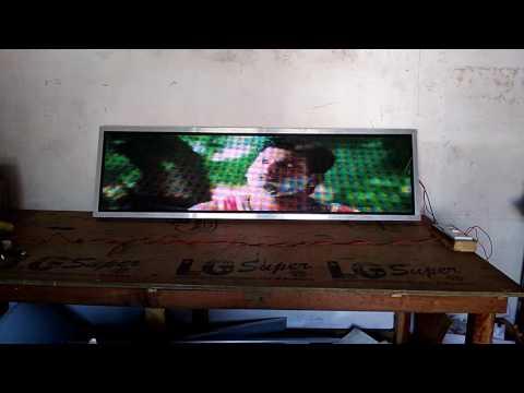 Led moving image board playing kavakara kiliye song HQ