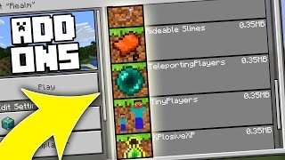 10 NEW Minecraft Update Add-Ons