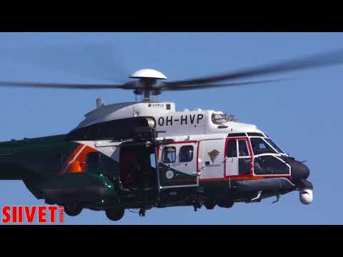 super-puma-helicopter-search-and-rescue-demonstration---kaivari-airshow-2017