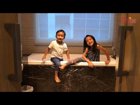 Main Petak Umpet di Kamar ternyata Asyik | Zara Kenzo staycation di Grand Tjokro Bandung