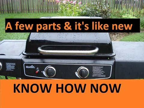 How to Replace Burners on Char Broil Grill