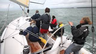 How to avoid a Chinese gybe when sailing downwind