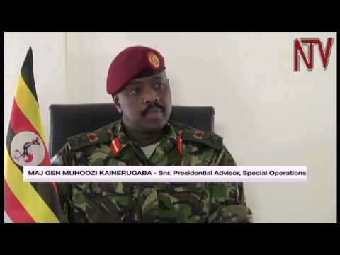 Maj. Gen. Muhoozi Kainerugaba says he has no interest in joining politics