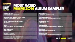 Defected presents Most Rated Miami 2014 - Album Sampler
