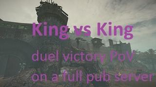 Chivalry - Epic BelmEZ King vs King duel win PoV (better than sex)