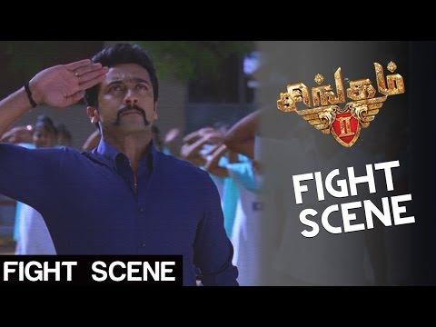 Singam 2 - Fight Scene | Suriya, Anushka, Hansika | Hari