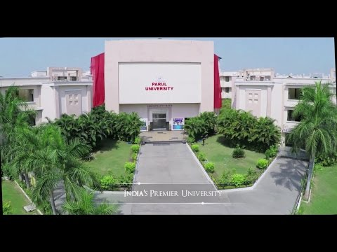 Parul University A Glimpse Youtube