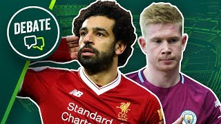 Mo Salah vs Kevin De Bruyne - Player of the season is... | Debate with Stephen Howson & Statman Dave