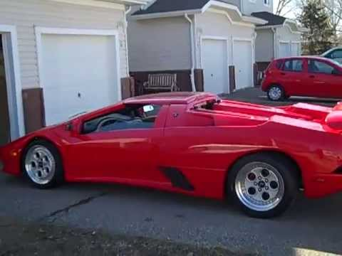 1999 Lamborghini Diablo Roadster Replica Youtube