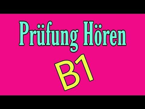 смотрите сегодня Modelltest 5 B1 Zertifikat Hörverstehen Deutsch