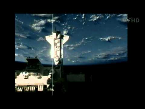 Space Shuttle Endeavour STS-134 docking to ISS Part 2