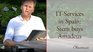 IT-Services in Spain: Stern buys Amadeus