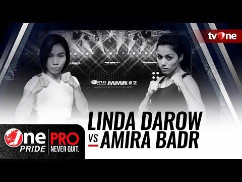 One Pride MMA #2: Linda Darow [Indonesia] VS Amira Badr [Mesir]