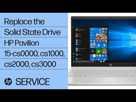 How to Replace the Solid State Drive | HP Pavilion 15 Notebook