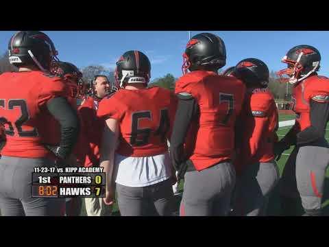 Milford Scarlet Hawks Football - November 23, 2017 vs KIPP Academy