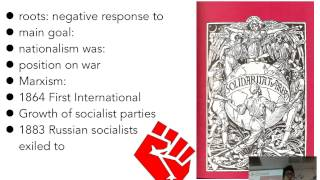 15D: Age of Mass Politics-Socialist Movements of the 19th Century