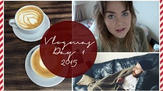 Vlogmas Day 1 II Vlogging is harder then it looks..