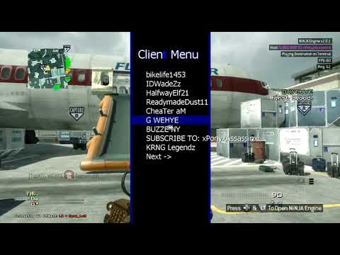 MW3 20th lobby and MY WAW MENU + Download RGH & JTAG  in the Description