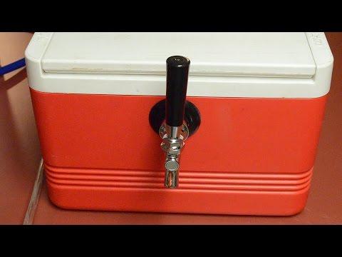 How to Keep Draft Beer Cold Using a Jockey Box