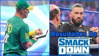 RESULTADOS De SmackDown 30 De Julio De 2021: John Cena ENFRENTARÁ a Roman Reigns En WWE SummerSlam
