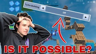 Can you win WITHOUT Turbo Building on Fortnite Mobile?